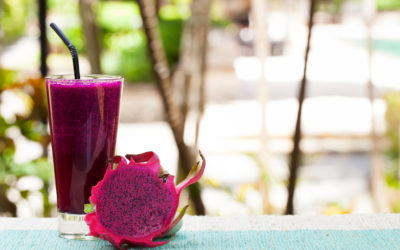 Dragonfruit and Coconut Drink